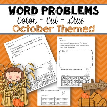 Word Problems (October Themed)