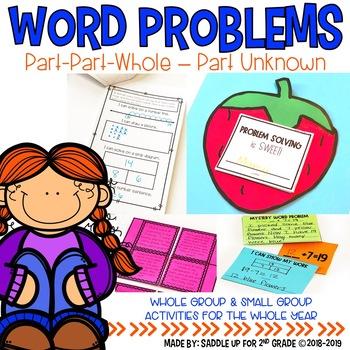 Word Problems: Part Part Whole-Part Unknown