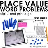 Word Problems Place Value First Grade