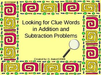 Word Problems Power Point Presentation