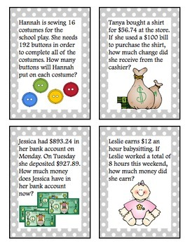 Word Problems Practice Pack