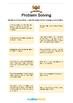 Word Problems - Problem Solving Methods -1st-3rd grade