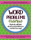Word Problems Redefined