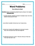 Word Problems: Rounding to the Nearest Hundreds Place
