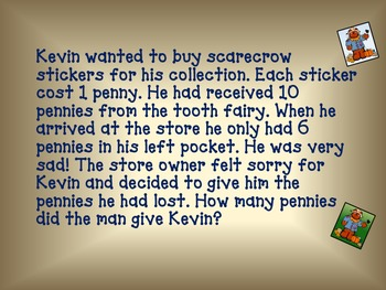 Word Problems (Scarecrow Stories)