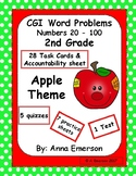 Word Problems Second Grade Apple Theme CGI