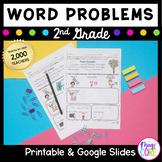 Word Problems Second Grade Common Core 2.OA.A.1, 2.NBT.B.5, 2.NBT.B.7