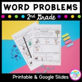2nd Grade Word Problems - PDF & Google Slides / Forms for Distance Learning