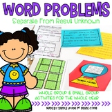 Word Problems: Separate From Result Unknown