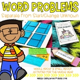 Word Problems: Separate From Start and Change Unknown