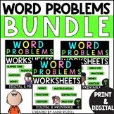Word Problems for Third Grade-Sets A-C  BUNDLE