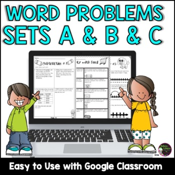 Word Problems Bundle: Grade 3