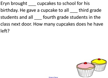 Word Problems Smart Board File (two-step, elapsed time)