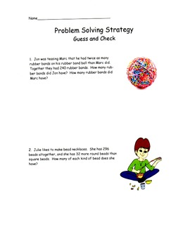 Word Problems - Solve Them With 7 Simple Strategies