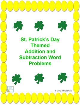 Word Problems: St. Patrick's Day Theme