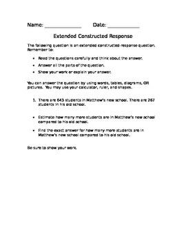 Word Problems (Standardized Test Practice)