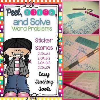 Word Problems: Sticker Stories