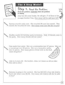 Word Problems: Straight Forward Math