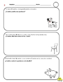 Word Problems Subtraction (Spanish)