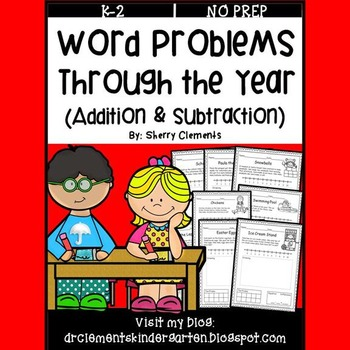 Word Problems Through the Year (Addition & Subtraction)
