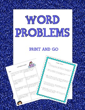 Word Problems - Variety
