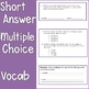 Word Problems and Algebraic Equations Test {Assessment and Rubric}