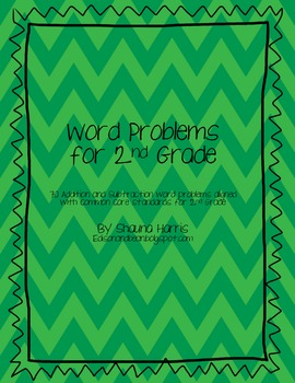 Word Problems for 2nd Grade
