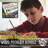 Word Problems for 5th Grade Math Notebooks THE BUNDLE