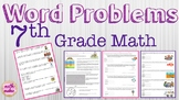 Word Problems for 7th Grade Math