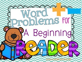 Word Problems for Beginning Readers