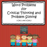 Word Problems for Critical Thinking and Problem Solving 3.