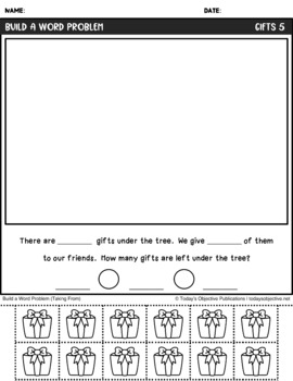 Word Problems First Grade (Bundle for the Year)
