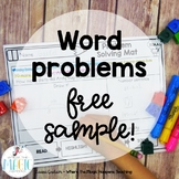Word Problems for First and Second Grade