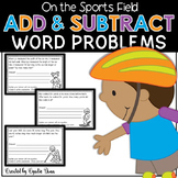 Word Problems for Interactive Notebooks: Addition and Subtraction