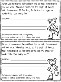 Measurement Word Problems