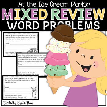Mixed Review Word Problems