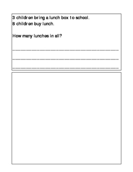 Addition and Subtraction Word Problems for K-1