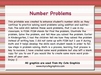 Word Problems for K