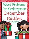 Word Problems for Kindergarten - December Edition
