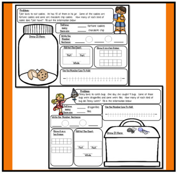 Word Problems for Primary Grades: Addition and Subtraction BUNDLE