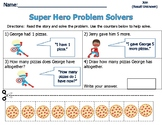 Word Problems for Primary Students - Sum of 6