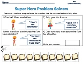 Word Problems for Primary Students - Sum of 7