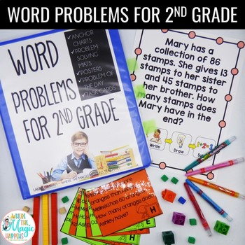 Word Problems 2nd Grade 2.OA.A.1 2.NBT.B.5 2.NBT.B.7 FOR THE WHOLE YEAR