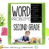 Word Problems 2nd Grade 2.OA.A.1 2.NBT.B.5 2.NBT.B.7 FOR T