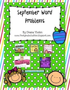 Word Problems for September