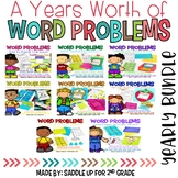 Word Problems for the Year BUNDLE