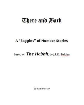 "Word Problems from ""The Hobbit"" -- There and Back..."
