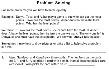Word Problems, mixed types, 2nd grade - Individualized Math - worksheets