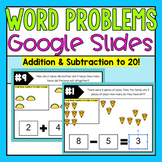 Word Problems on Google Slides (Distance Learning)