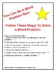 Word Problems: one/two step addition & subtraction, BUNDLE!